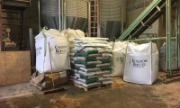 Diy storage sack for wood pellets