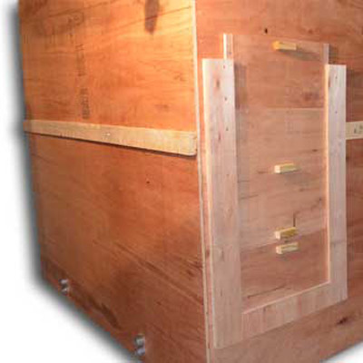 Pellet Storage Unit for Basement