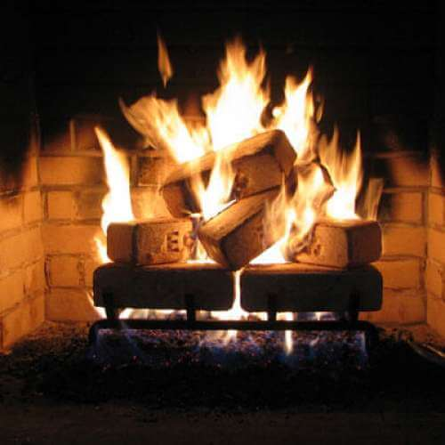 Enviro Heating Bricks: Wood Brick Fuel for Your Home