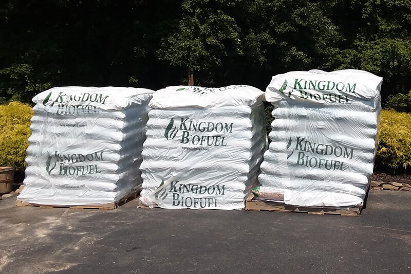 Bagged Bedding Pellets by the Pallet