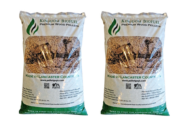 Bagged Premium Hardwood Pellets in PA