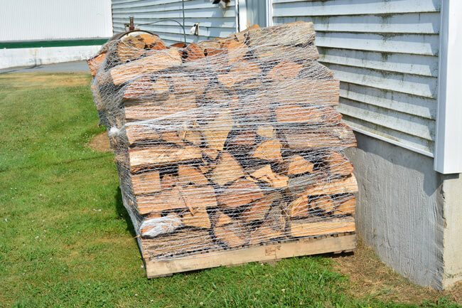 Cord Firewood For Sale and Delivered in PA