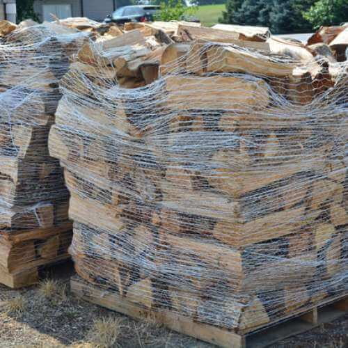Cord of Firewood = Two Pallets