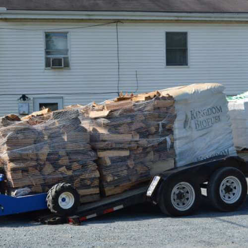 Firewood for Camping Delivered to your Campground or Home