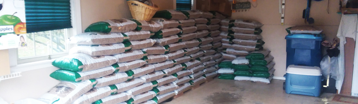 Bagged Softwood Pellets Delivered to Your Home