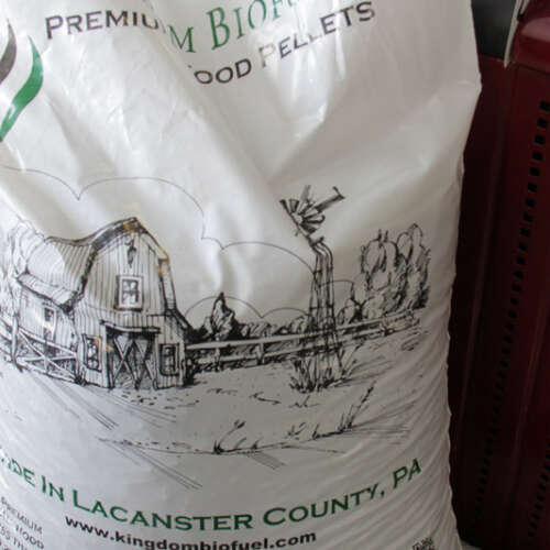 Softwood Pellets in Bags